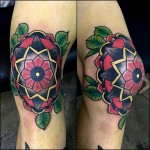 Knee Tattoos Designs