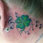 Lucky Clover Tattoo