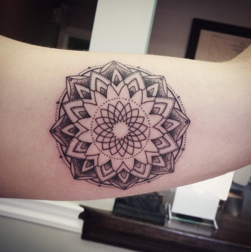Mandala Tattoo Arm