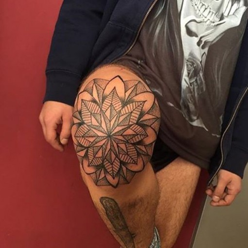 Mandala Tattoo Flower by fongiohaze