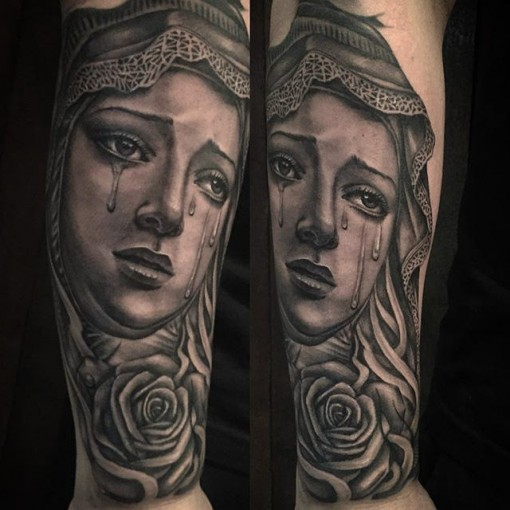 Mary Tattoo