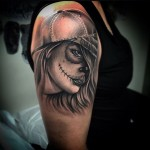dead girl Tattoo Chicano