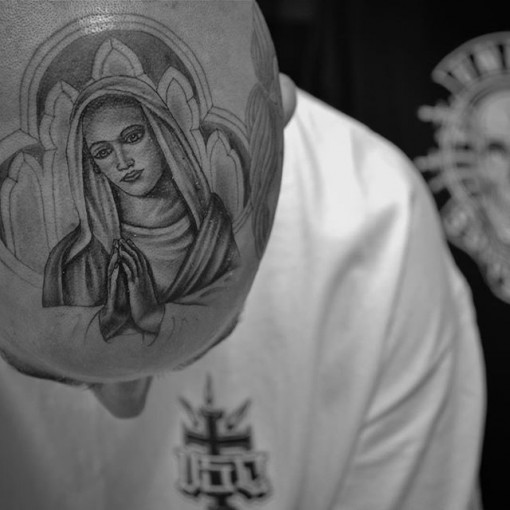 Mexican Mary Tattoo