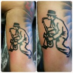 Musician Tattoo by justtattoosbirmingham