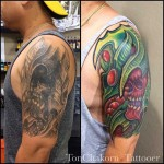 Organical Tattoo Cover Up