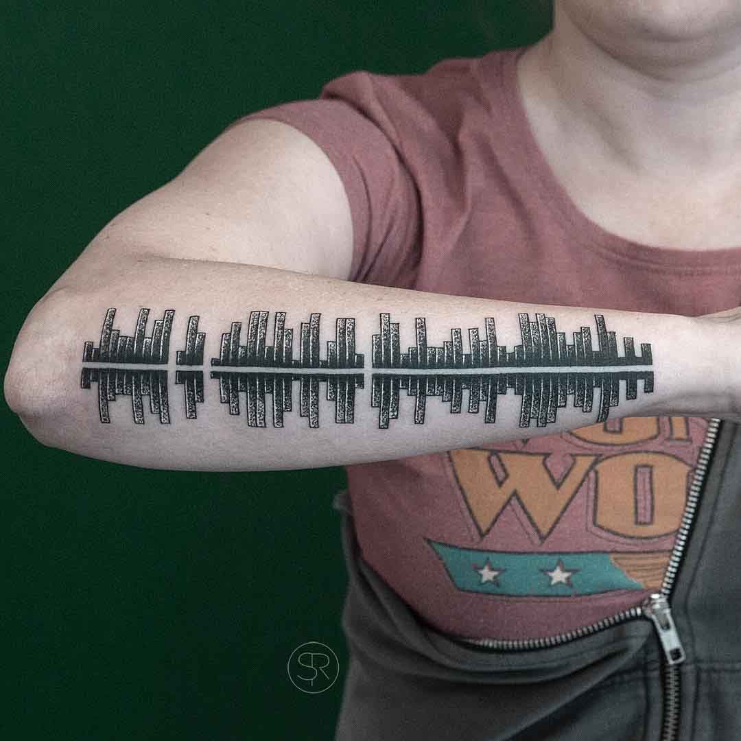 arm tattoo pi visualisation