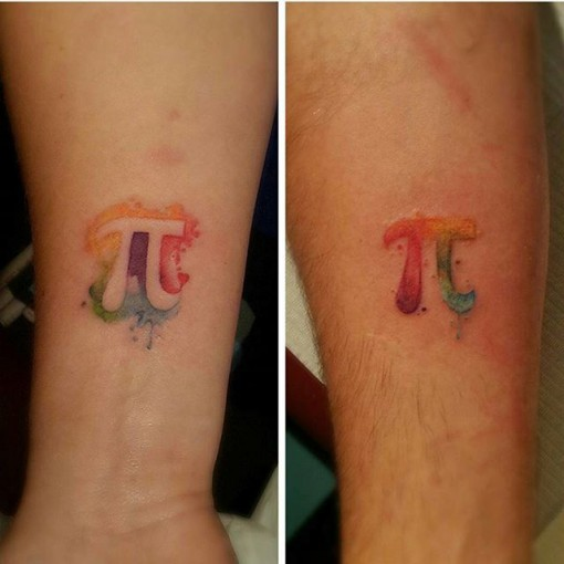 Pi Tattoos