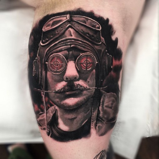 Pilot Tattoo by sean_foy2