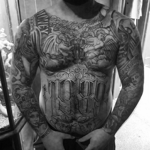 Chicano tattoo prison
