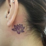 Purple Lotus Tattoo