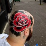 Rose Head Tattoo