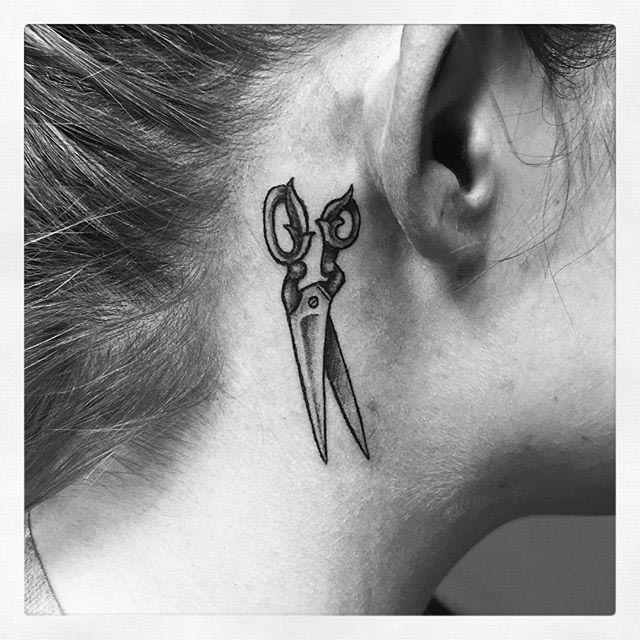 Scissors Tattoo