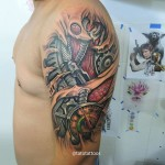 Shoulder Biomechanical Tattoo