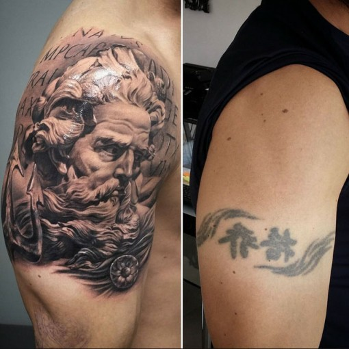 Shoulder Tattoo Men