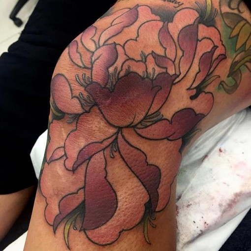 Side Knee Tattoo
