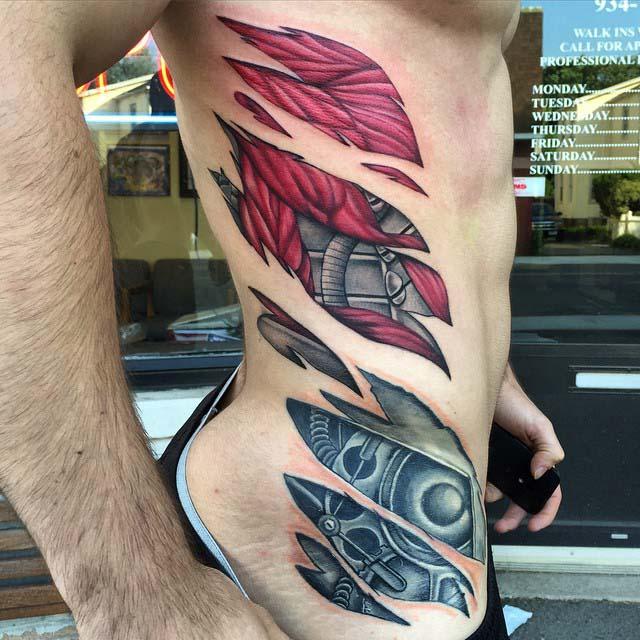 Side Tattoo Biomechanical