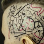 Side of Head Tattoo