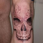 Skull Tattoo Outline
