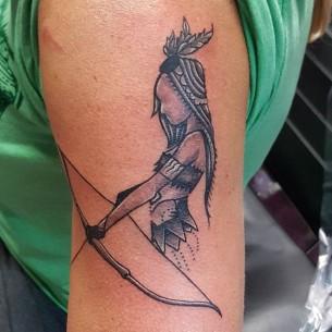 Small Indian Tattoo