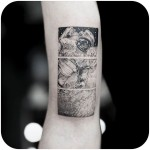 Spacewalk Tattoo Astronaut