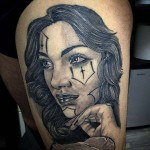 Stile Chicano Tattoo