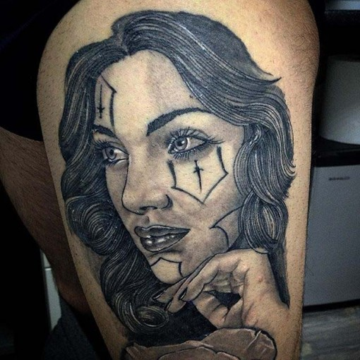 CHicano tattoo style