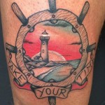Take Your Time Tattoo Nautical
