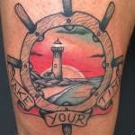 Take Your Time Tattoo Nautical