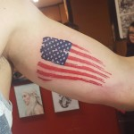 Tattoo American Flag