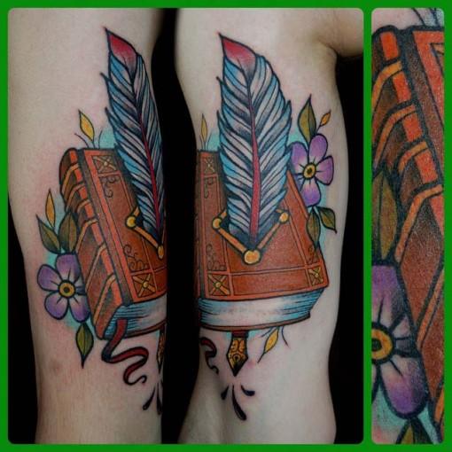 Tattoo Art Book by tippingtattoo