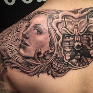 Chicano tattoos best tattoo ideas gallery part 3 for Chicano tattoo art