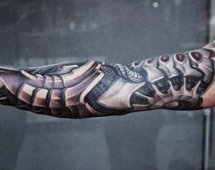 Tattoo Biomechanical Arm