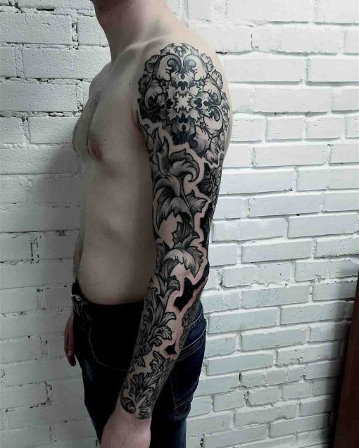 full sleeve tattoo for men