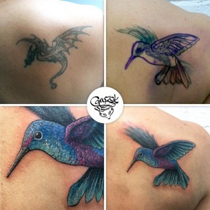 Tattoo Hummingbird