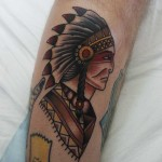 Tattoo Indian Chief