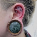 Tattoo Inside Ear