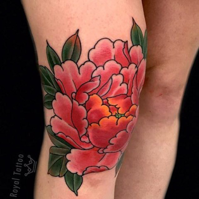 Tattoo Knee by
