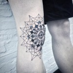 Tattoo de Mandala by Andy MA