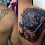 Tattoo on Shoulder Blade
