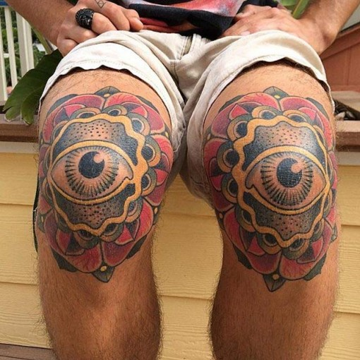 Tattoos on Knees