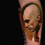 portrait Taxi Driver Movie tattoo