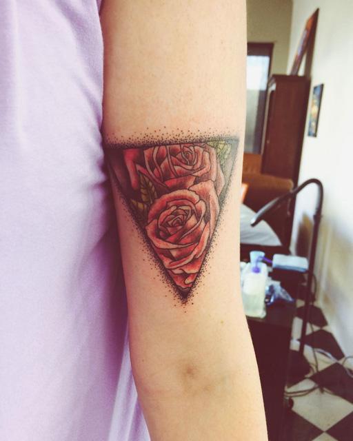 Upper Bicep Tattoo