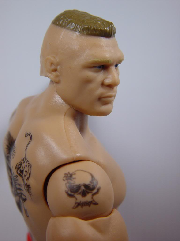 brock lesnar skull tattoo