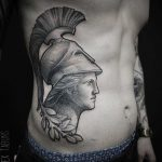 Ancient Greek Portrait Tattoo