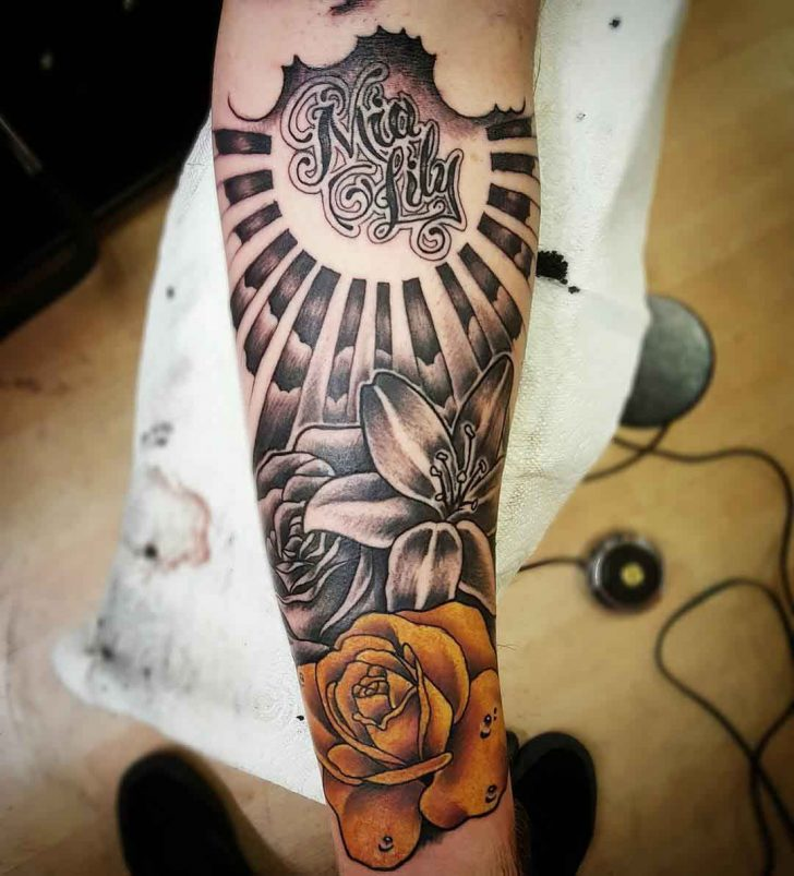Arm Sleeve Tattoo by truegenttattoos13