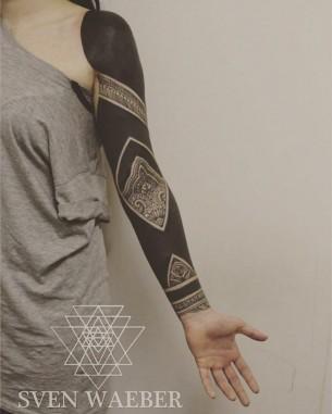 Blackwork Tattoo Arm