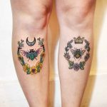 Bugs Shin Tattoo Designs
