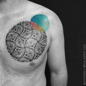 Chest Tattoo for Men
