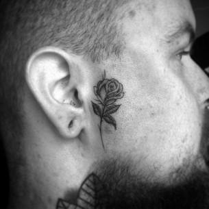 Chicano Rose Tattoo