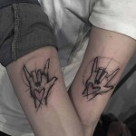 Coolest Couple Tattoos